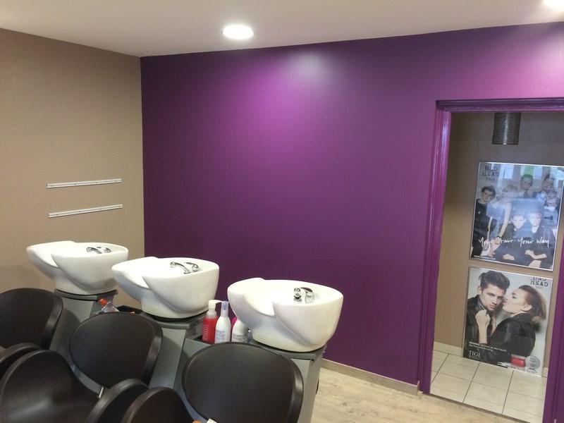 La Peinture Pour Un Salon De Coiffure : Rénovation d un salon de coiffure hemery peinture à